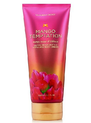 Крем для тела та рук Victoria's Secret Ultra-moisturizing Hand and Body Cream Виктория Сикрет Mango Temptation