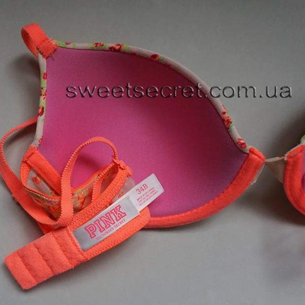 Бюстгальтер Виктория Сикрет Victoria's Secret PINK Wear Everywhere Lightly Lined Bra